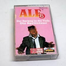 Alf Hörspielkassette MC - Folge Nummer 6 - Der Sprung in die Tiefe + Die Sprit..