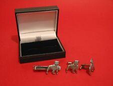Plata Golden Retriever Diseño Peltre Pin De Solapa Insignia hecha a mano en Inglaterra Nuevo