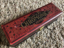 Vintage Hohner Super Chromonica Chromatic Harmonica with Case/Box
