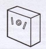 2 pin socket 12v 10amp caravan/motorhome