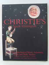 Christie' Catalogue Oct 2003 Toys Mechanical Music Automata Dolls : with results