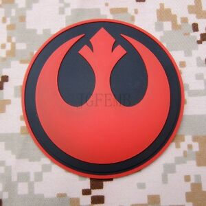 STAR WARS Rebel Alliance Tactical Military Morale 3D PVC Patch