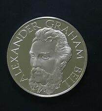 1976 Alexander Graham Bell Telephone Pioneers of America Silver Proof Medal