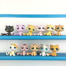 Lot 11 Littlest Pet Shop Tabby Cat 815 576 94 506 552 706 53 349 LPS Set Chat