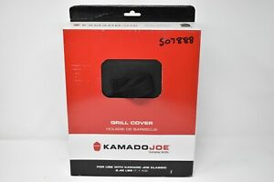 Kamado Joe House of Barbecue Fitted Classic Protective Outside Grill Cover Black