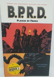 Dark Horse comics B.P.R.D Plague Of Frogs, vol 3. By Mike Mignola and Guy Davis