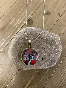 Tree of LIfe Pendants on a Silver Chain
