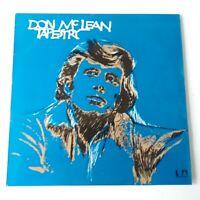 Don McLean - Tapestry - Vinyl LP UK 1st Press A-3/B-3
