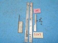 Wurlitzer wallbox 5205 5206 5207 Program Window Retaining Strips with screws