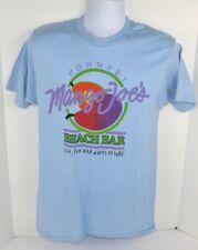 Vtg 1980's Mango Joe's Beach Bar Pohnpei, Printed T-Shirt Blue Large 42-44 Nos