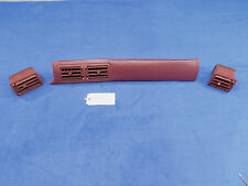 90 91 92 Ford Mustang Dash Vent Vents Pad OEM Used Take Out Burgandy