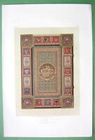 BOOK COVER for Kaiser Album Austrian Design - 1862 VICTORIAN Color Print