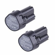 2X 10.8 Volt Li-ion Battery for Makita BL1013 194551-4 194550-6 A4U2