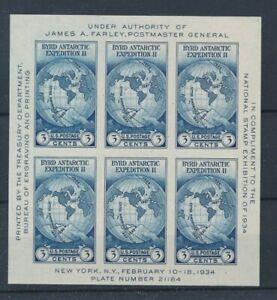 [31585] USA 1933 Good sheet Very Fine Mint no gum