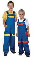 Kids  work Bib and Brace, BOB the Builder dungarees Trousers Overalls pants