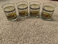 Lot Of 4 Longacres Mile Seattle 1935-1992 Glass Cup Park Horse Racing