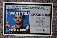 STRIPES Lobby Card Movie Poster BILL MURRAY HAROLD RAMIS JOHN CANDY