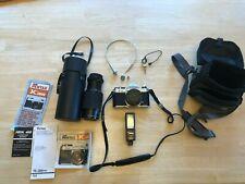 Pentax Asahi K1000 35mm SLR Film Camera W/SMC M 50mm and 75-205 Lens!