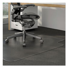 Alera Studded Chair Mat for Low Pile Carpet 45 x 53 Clear MAT4553CLPL