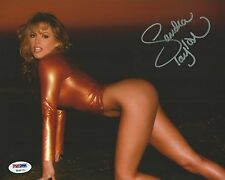 Sandra Taylor Signed 8x10 Photo PSA/DNA COA Playboy & Penthouse Magazine Model 1