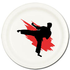 Karate / Martial Arts Sports Fan Party Supplies DESSERT CAKE PLATES