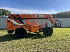 2012 Skytrak 8042 8000 Lb Telehandler Boom Truck Forklift Diesel Telescopic