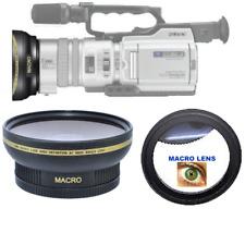OPTURA HD Titanium Series 0.3x HD Fisheye Lens for 52mm Video Camera Camcorders