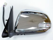 TOYOTA HILUX 2012- ON ELECTRIC DOOR WING MIRROR CHROME WITH INDICATOR  RH RIGHT