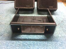 Job Lot Vintage/Classic car speakers, radio bracket-holder, radio trim