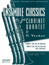 Ensemble Classics for Clarinet Quartet Book 1 for Four Bb Clarinets En 004475327