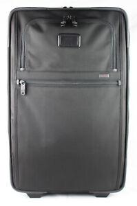 TUMI 'Alpha 2' Black Nylon Frequent Traveler Expandable Carry-On - 22922D2