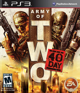 Army Two 40Th Day - Sony Playstation 3 Game Complete