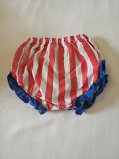 Girls Little Wishes 0/6 Months Fourth Of July Bloomers