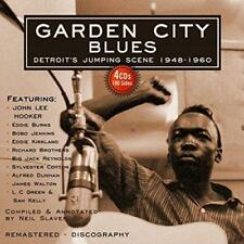 Garden City Blues - Various (NEW 4CD)