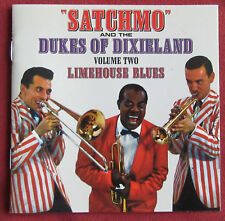 LOUIS ARMSTRONG AND THE DUKE OF DIXIELAND  CD  VOL. 2   LIMEHOUSE BLUES