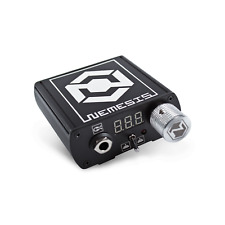 Nemesis Professional Tattoo Power Supply in Black by Kwadron