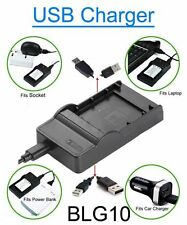 Battery Charger for Panasonic DMW-BLG10 DMW-BLG10E DMW-BLG10GK DMW-BLG10PP