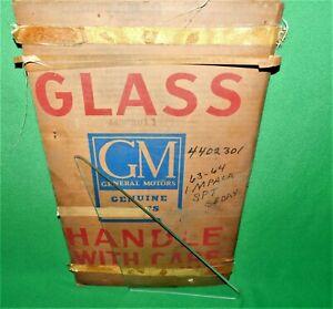 🔥 NOS 63 64 CHEVY IMPALA BELAIR SPORT SEDAN VENT WINDOW GLASS PAIR CLEAR RH LH