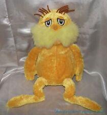 "2010 Kohls Dr Seuss Plush 15"" Golden Yellow Floppy The Lorax Embroidered Eyes"