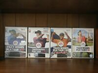 Tiger Woods PGA Tour 07-10 Wii Game Bundle! Tested!