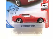 2020 Hot Wheels Lowered '89 Porsche 944 Turbo  (red) W/Real Riders SUPER CUSTOM