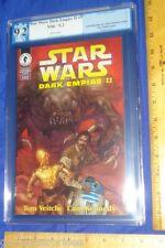 PGX 9.2 Star Wars Dark Empire II #5 (NOT CGC/NOT CBCS)1st Jacen Jaina Solo Twins