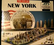 The New York city 4D Cityscape History Over Time Puzzle 900pcs factory sealed.