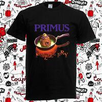 Rare Primus Frizzle Fry T-Shirt Black Men Short Sleeve Reprint S-4XL KL252