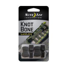 Nite Ize KnotBone LaceLock 2-Pack Knot-Free Universal Shoe Lace Kit w/Lace Caps
