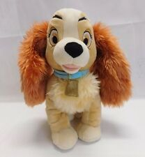 "Disney Store Exclusive Lady & The Tramp 13"" Plush Dog Stuffed Animal Toy"