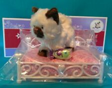NIB ~American Girl Princess Pet Bed & Himalayan Kitten~ Cat 2-New Sets Puppy Dog