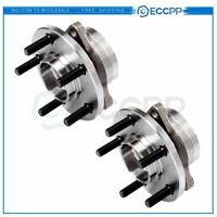 2 For Ford Taurus Mercury Sable Lincoln Continental Front Wheel Bearing & Hub