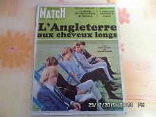 PARIS MATCH N°886 02/04/1966 LES ROLLING STONES LACOSTE GEMINI VIII AUFRAY   J18