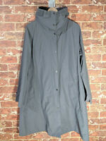 Eileen Fisher XL Grey Nylon Cotton Light Coat